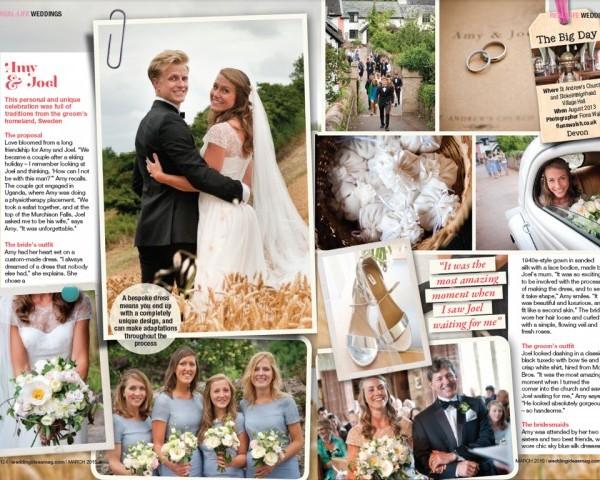 Featured in Wedding Ideas Magazine!