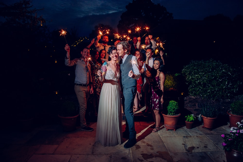 wedding-sparklers-devon